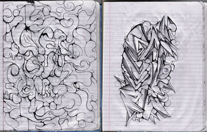 Two Drawings by IGzlz
