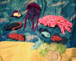 Amigurumi Aquarium by Chromodoris