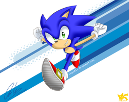 Sonic the Hedgehog by Chipo811