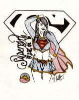 supergirl asian by philhorn