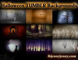 Free Halloween Tumblr Backgrounds 2014 by ibjennyjenny