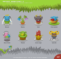 Basket Monsters 2 for XP by YUMEK0N