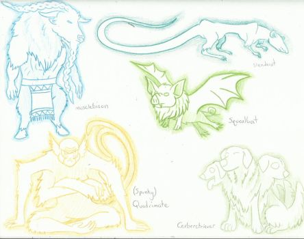 Lusii Concepts! (2) by AmericanBlackSerpent