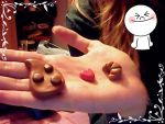 My first polymer clay creations by ele93