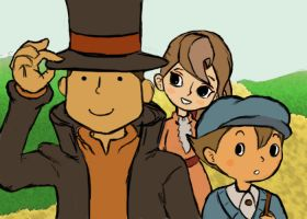 Professor Layton Hat Tip by startoonhero