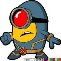 X-Minion: Cyclops by jokerjester-campos