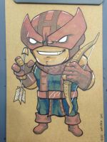 Hawkeye Lil Dude by MARR-PHEOS