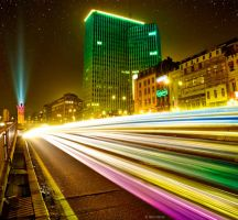 Brussels by Night by BenHeine