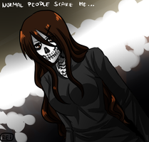 Normal people scare me by GazeRei