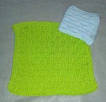 Bittami's Goat Willow dishcloth by KnitLizzy