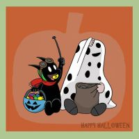 Good Grief Happy Halloween by The-BlackCat