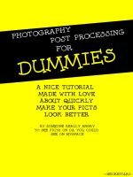 Post Processing for Dummies by NEOkeitaro