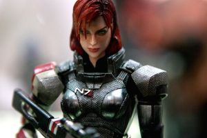 Mass effect 3, Commander Shepard Figure by eastphoto99