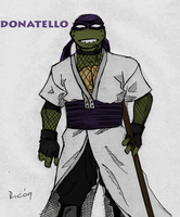 TMNT Donatello Colored by YintoYang