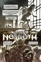 Legacy of Kain: Nosgoth comic demo page 1 by EvanStanley