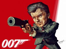 James Bond - Pierce Brosnan by vp021