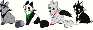 Themed Canine Point auction closed by MostlyAdopts