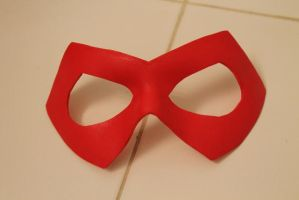 Red Arrow mask by ThisIsMyLurkerName