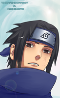 Sasuke's  smile by iAbadon