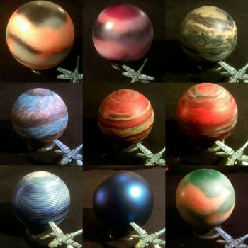Planets from Ornaments by Spielorjh