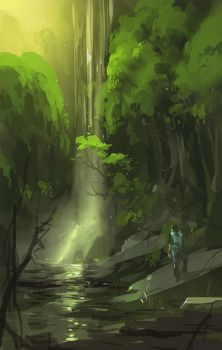 speed painting by artcobain