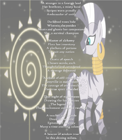 A Tribute to Zecora: The Wise by Light-of-Dusk