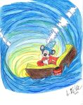 Requested- Sorcerer Mickey: The Whirlpool by NY-Disney-fan1955