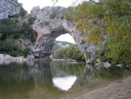France, Ardeche Pont d'Arc by elodie50a