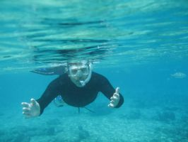 Mark Snorkling by Cookie96