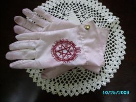 My Alucard gloves by Grell-chan