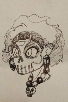 Witch Doctor Doodle by D1gg3R101