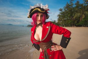 Fate Extra Cosplay: Francis Drake by Kak-Tam-Ee