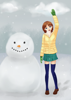snowman by TakemaKei