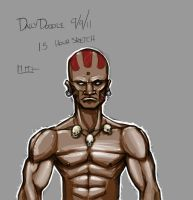 Dhalsim Doodle - Colored by Paterack