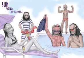 Lordi's summer by NightFlame666