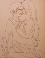 Pocky Game (WIP) by blueexorcistlover15