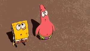 Spongebob and Patrik Wallpaper by suicidecrew