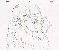 TPH genga production art by Mangaka-chan