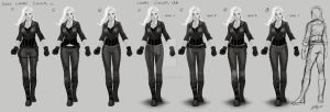 CW Arrow - Black Canary Concepts by AndyPoonDesign