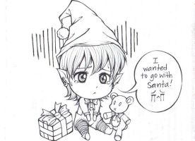 Wanted to go with Santa by DayDreamerJxD