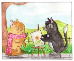Let us paint together ! by Paintwick