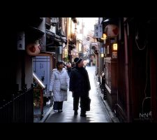 Streets of Kyoto #2 by Ni0n