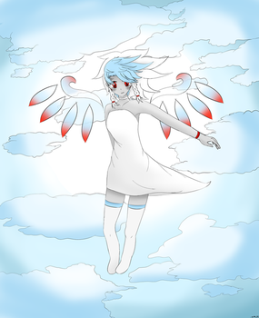 Vella-Miya in the Clouds (Anime) by areint