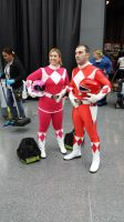 NYCC 2014 - Power Rangers Cosplay by DestinyDecade