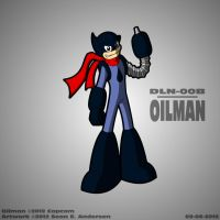 Mega Man 1 - Oilman by TheRealSneakers