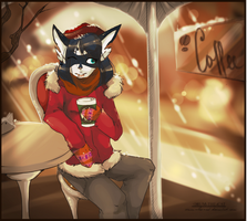 Coffee time by orum-the-cat