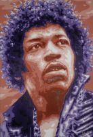 Hendrix by cfigat