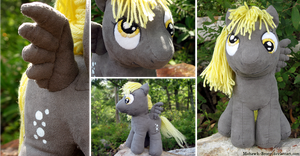 Derpy Hooves Plushie by MohawkMax