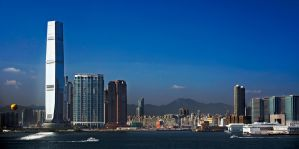 Kowloon Skyline by smokinjay
