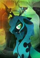 Queen Chrysalis - Mother of Greed by Rariedash